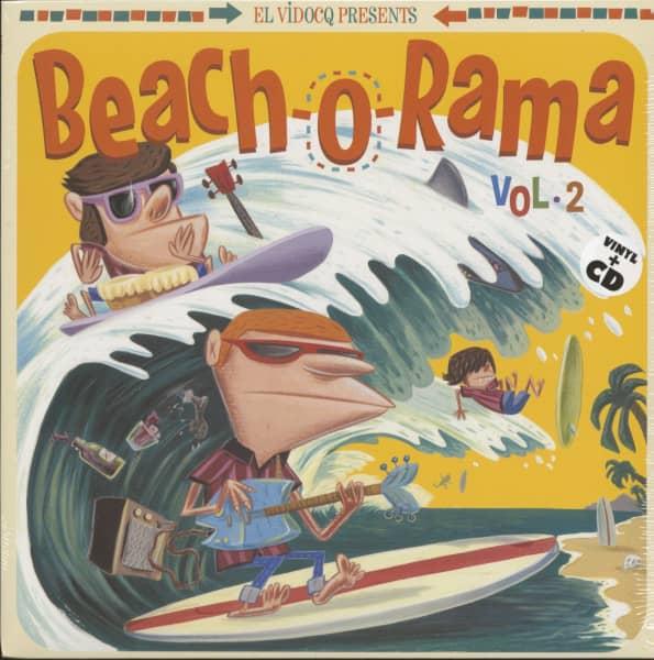 Beach-O-Rama Vol.2 (LP+CD)