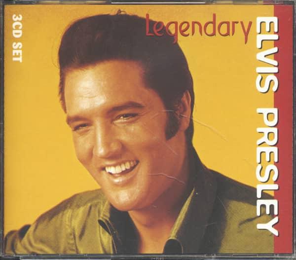 Legendary Elvis Presley (3-CD, Ltd.)