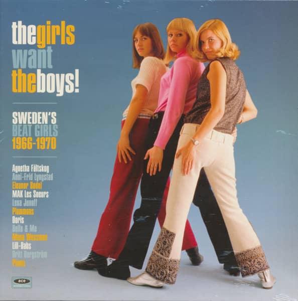 The Girls Want The Boys! Sweden's Beat Girls 1966-1970 (LP, White Vinyl)