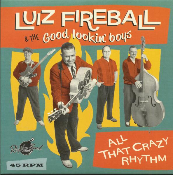 All That Crazy Rhythm (7inch, 45rpm, PS)