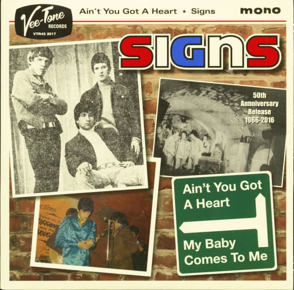 Signs - 50th Anniversary Release 1966-2016 (7inch, 45rpm, PS)