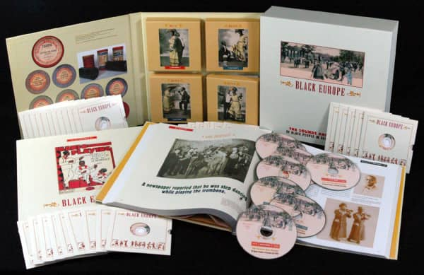 Black Europe - The Sounds And Images Of Black People In Europe- Pre 1927 (44-CD Box)