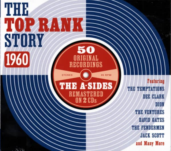The Top Rank Story 1960 (2-CD)