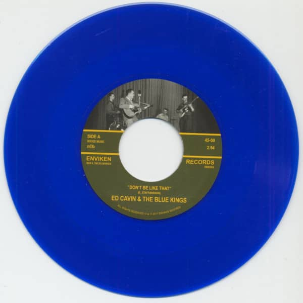Don't Be Like That - Love Me (7inch, 45rpm, Blue Vinyl)