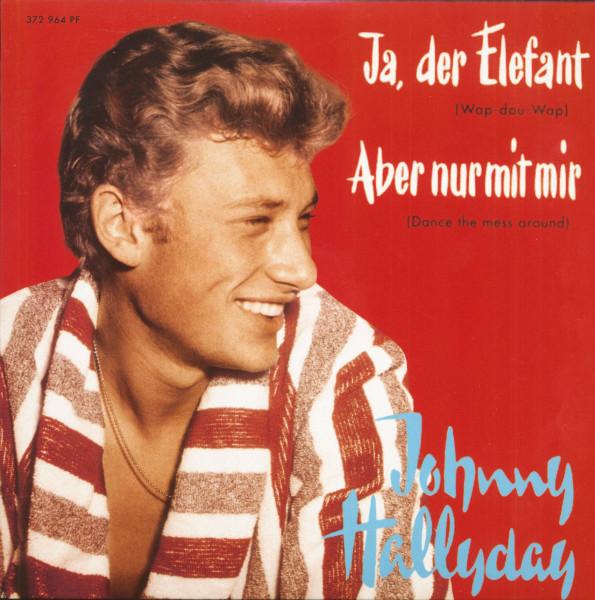 Ja, der Elefant (7inch, EP, 45rpm, PS, SC, Red Vinyl, Ltd.)