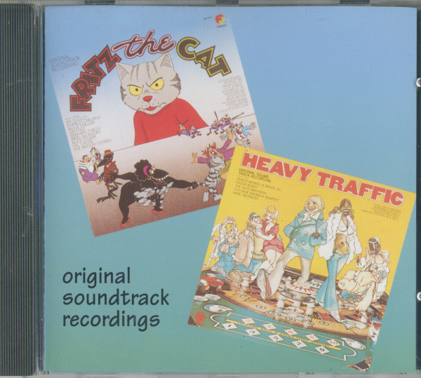 Fritz The Cat & Heavy Traffic - Original Soundtracks (CD Album)