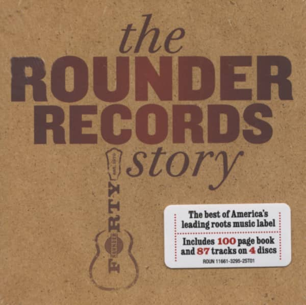 Rounder Records Story (4-CD Cube Box)