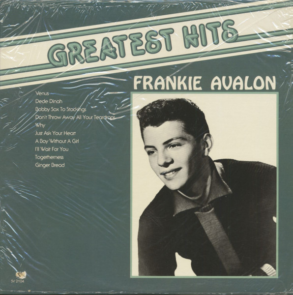 The Greatest Hits Of Frankie Avalon (LP)