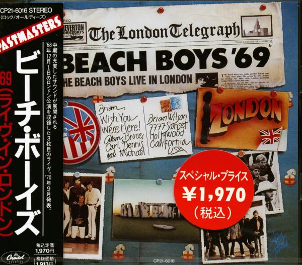'69 Live In London (CD Japan)