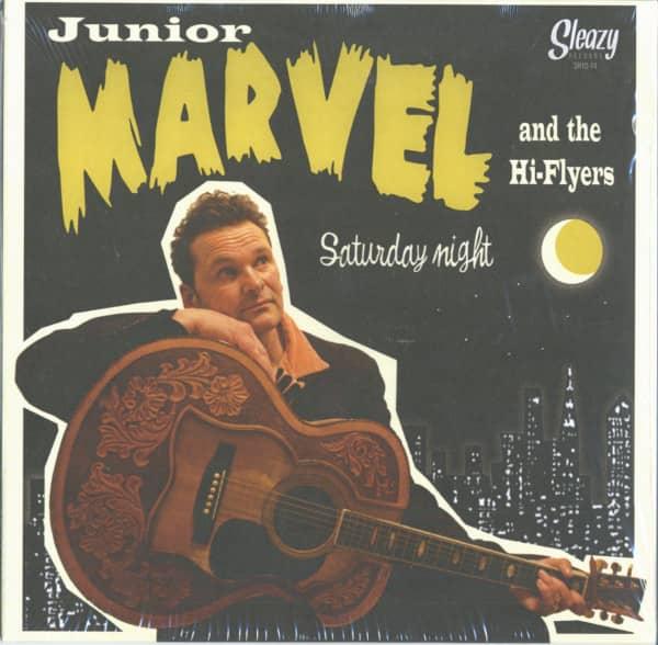 Junior Marvel & The Hi-Flyers - Saturday Night (LP, 10inch)