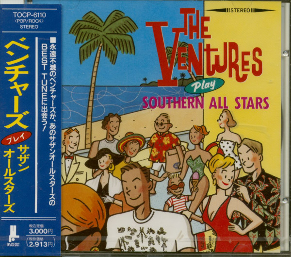 The Ventures Play Southern All Stars (CD Japan)