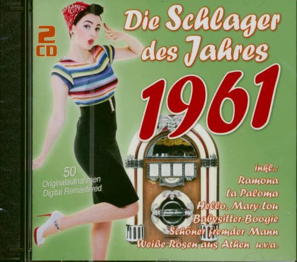 Die Schlager des Jahres 1961 (2-CD)
