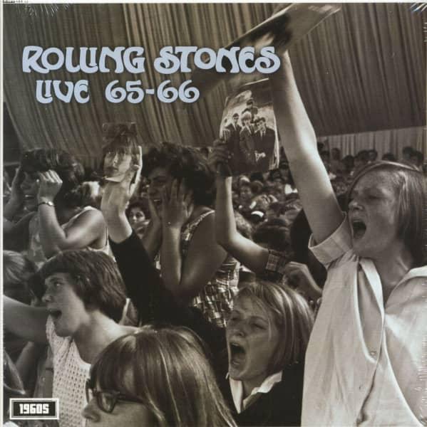 Live At Paris Olympia 1965-1966 (LP)