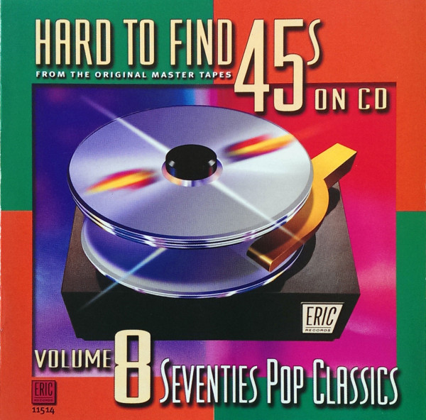 Hard To Find 45's On CD Vol.8 - 70s (CD)