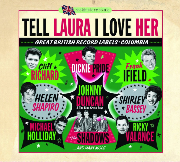 Tell Laura I Love Her: Great British Labels: Columbia (2-CD)