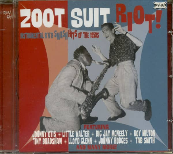 Zoot Suit Riot ! R&B Instrumentals...plus (CD)