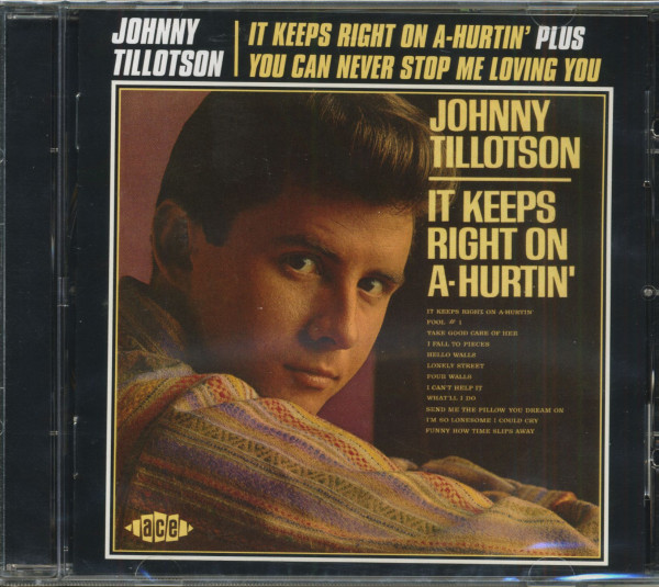 It Keeps Right On A-Hurtin - You Can Never Stop Me Loving You (CD)