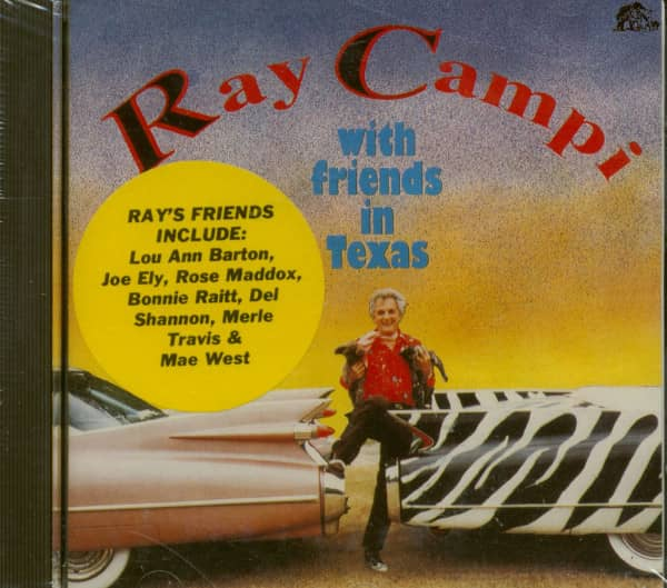 Ray Campi With Friends In Texas (CD)