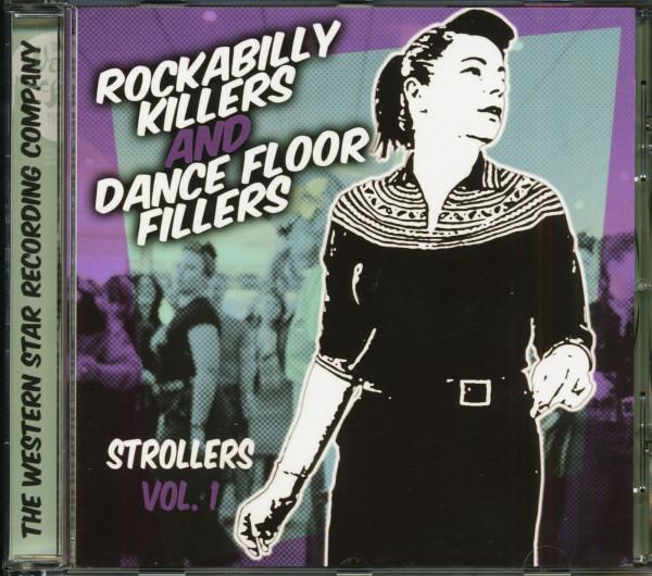 Rockabilly Killers And Dancefloor Fillers - Strollers Vol.1 (CD)