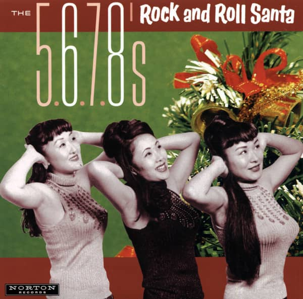 Rock And Roll Santa 7inch, 45rpm, PS, red wax