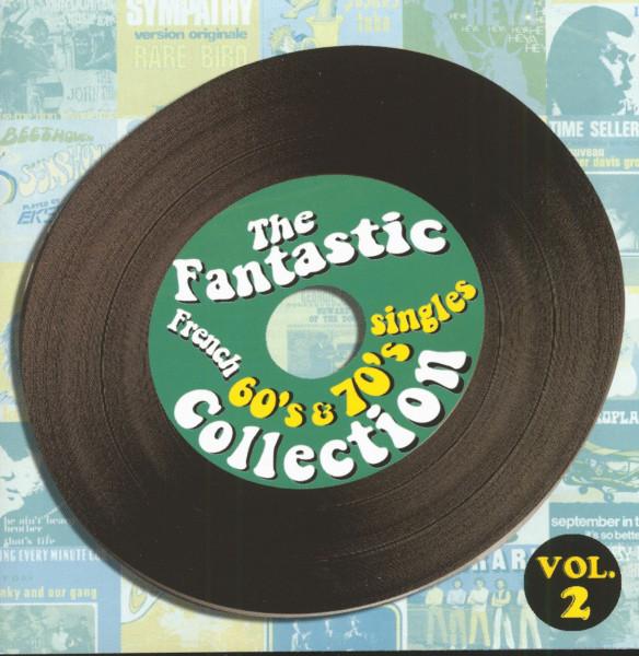 Vol.2, Fantastic French 60 - 70s Singles (2-CD)