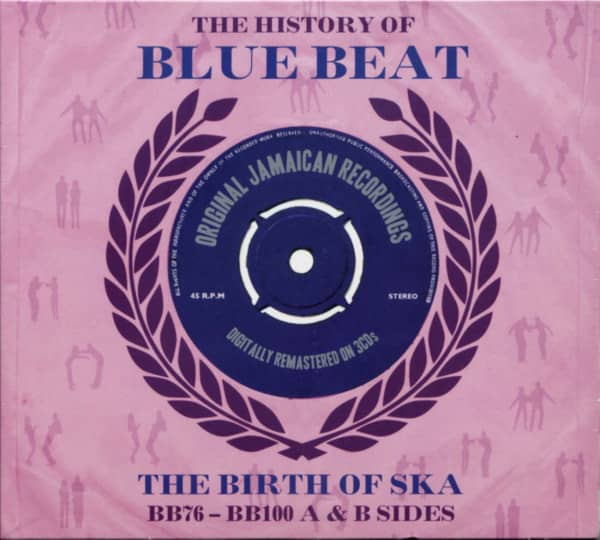 The History Of Blue Beat - The Birth Of Ska Vol.3 BB76-BB100 (3-CD)