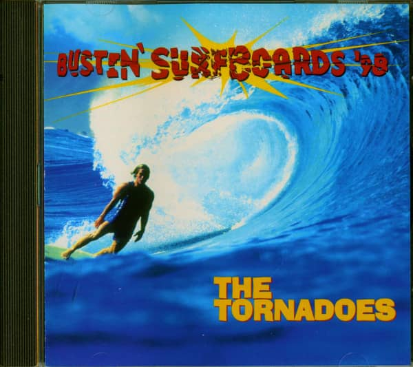 Bustin' Surfboards '98 (CD)