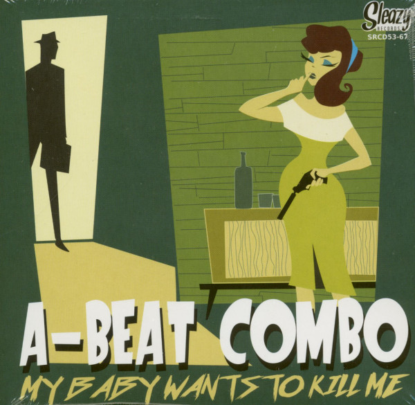 My Baby Wants To Kill Me (CD)