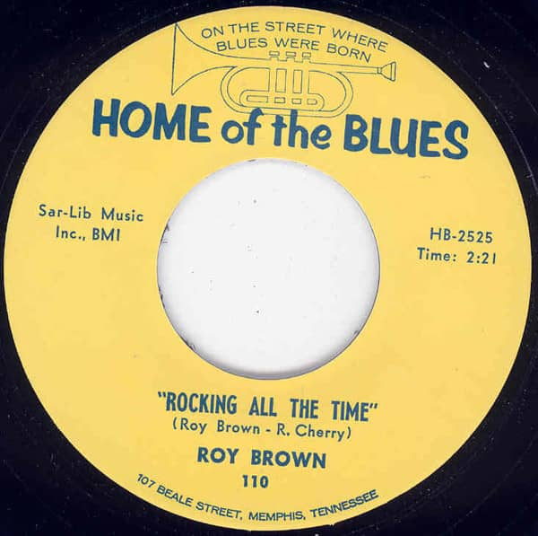 Rockin' All The Time b-w Something On My Mind 7inch, 45rpm