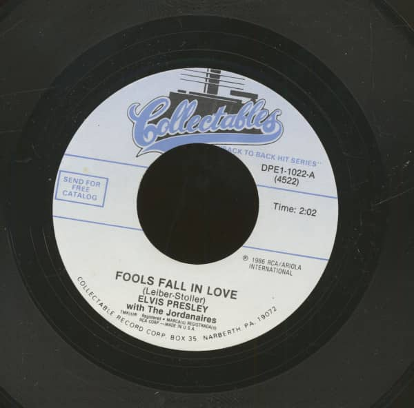 Fools Fall In Love - Blue Suede Shoes (7inch, 45rpm)