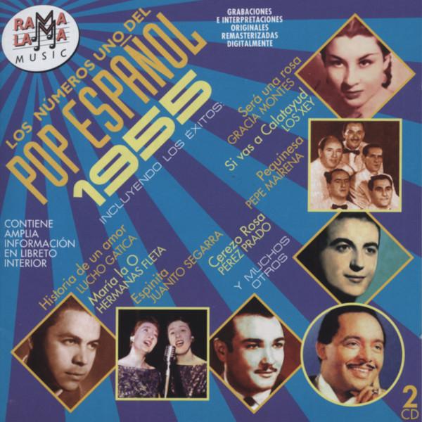 Los Números Uno Del Pop Espanol - 1955 (2-CD)