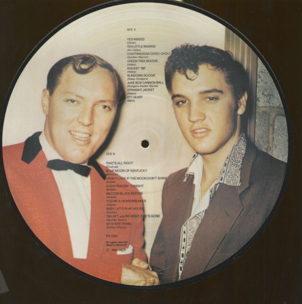 Elvis Presley & Bill Haley - Picture Disc (LP)