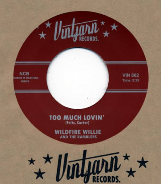 Too Much Lovin' b-w I Ain't Got Time 7inch, 45rpm