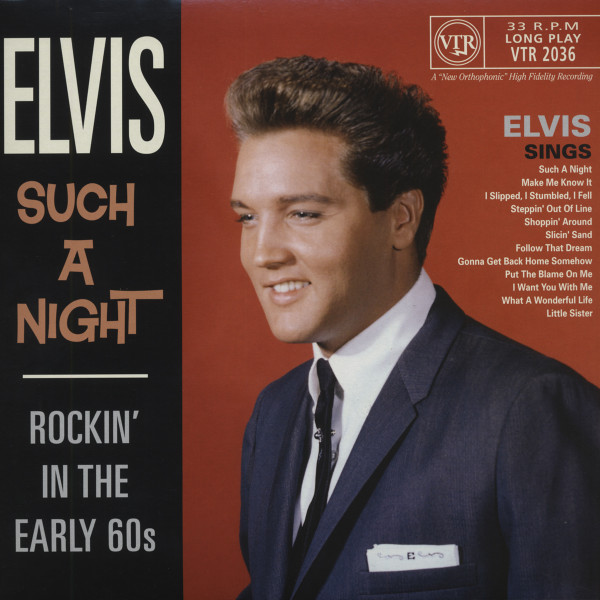 Such A Night - Rockin' The Early 60s (25cm-LP) Limited Edition