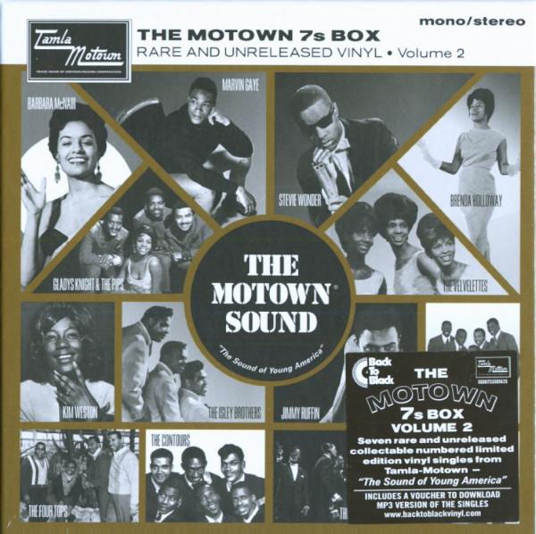 The Motown 7s Box, Vol.2 (7x45rpm Box Set, 7inch, SC)