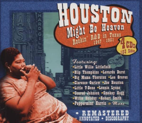 Houston Might Be Heaven - Rockin' R&B in Texa