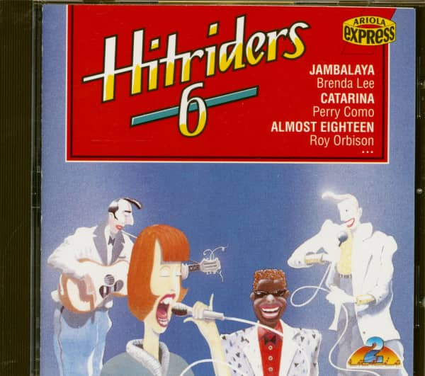 Hitriders Vol.6 (CD)
