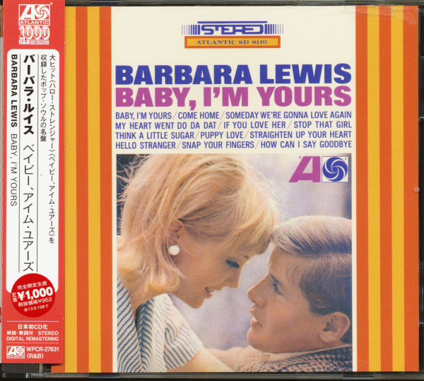 Baby, I'm Yours (CD, Japan)