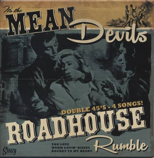 Roadhouse Rumble - Double 7inch, 45rpm