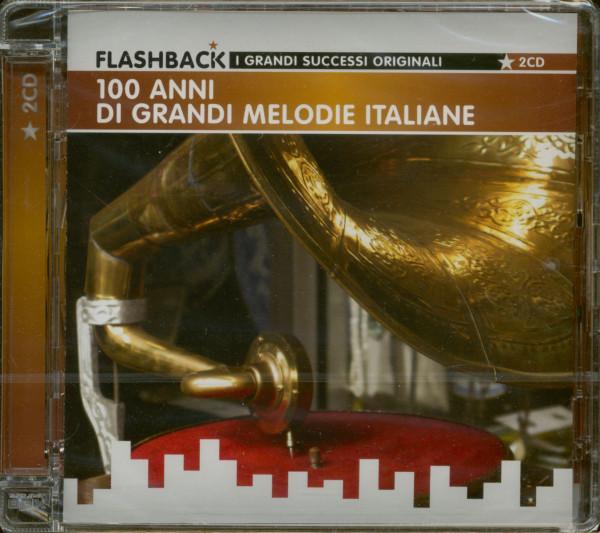 100 Anni Di Grandi Melodie Italiane - Flashback (2-CD)