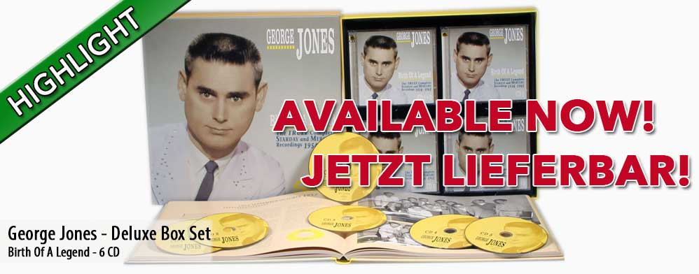 George Jones - Birth Of A Legend - The Truly Complete Starday And Mercury Recordings