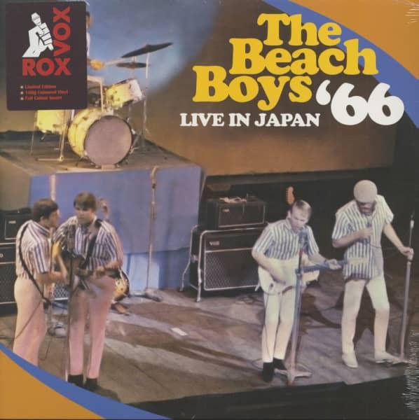 Live In Japan '66 (LP, 180g Coloured Vinyl)