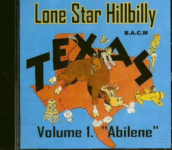 Lone Star Hillbilly Vol.1 - Abilene (CD)