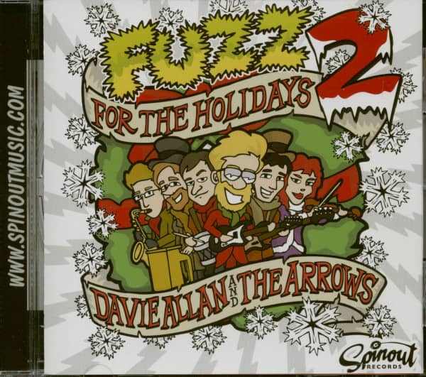 Fuzz For The Holidays 2 (CD)