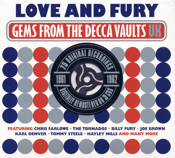 Love & Fury - Gems From The Decca UK Vaults (3-CD)