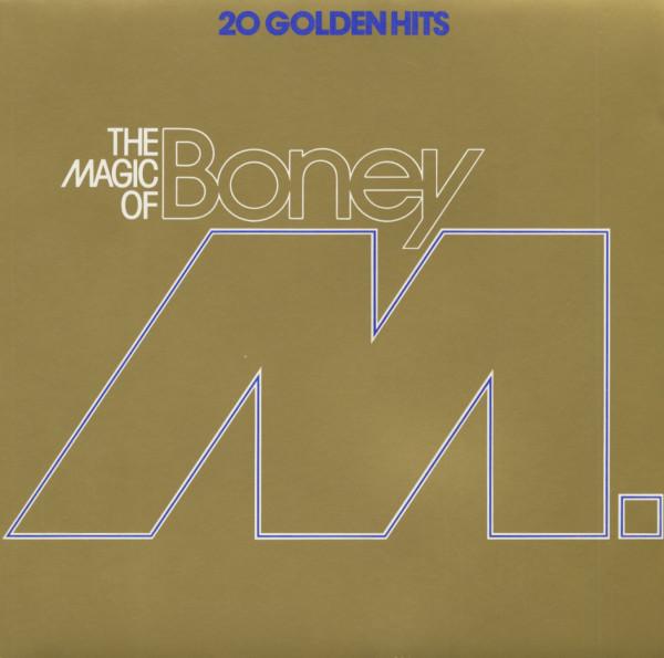 The Magic Of Boney M. - 20 Golden Hits (LP)
