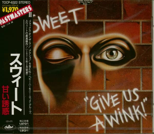 Give Us A Wink (CD Japan)
