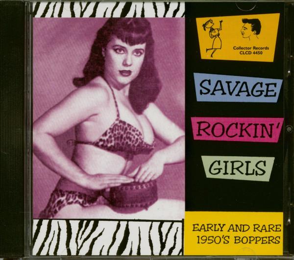 Savage Rockin' Girls (CD)