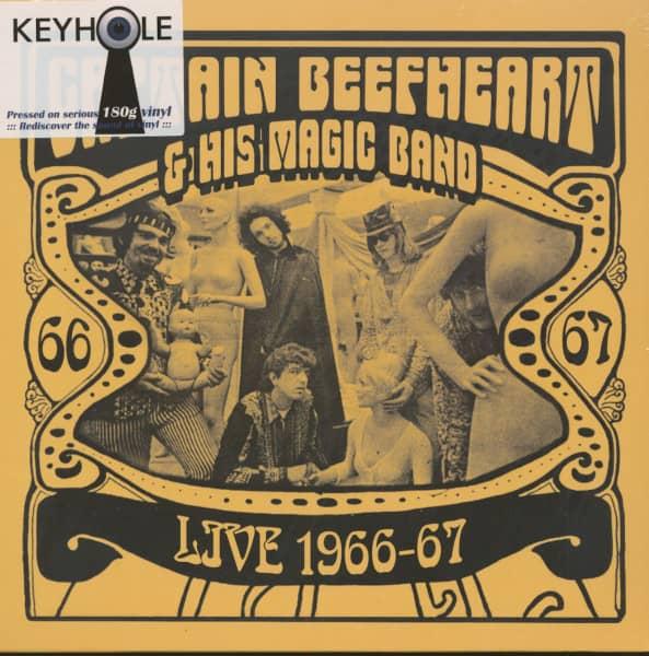 Live 1966-67 (LP, 180g Vinyl)
