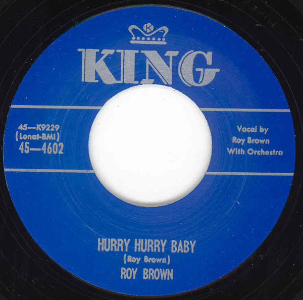 Hurry Hurry Baby b-w Up Jumped The Devil, Rauco 7inch, 45rpm